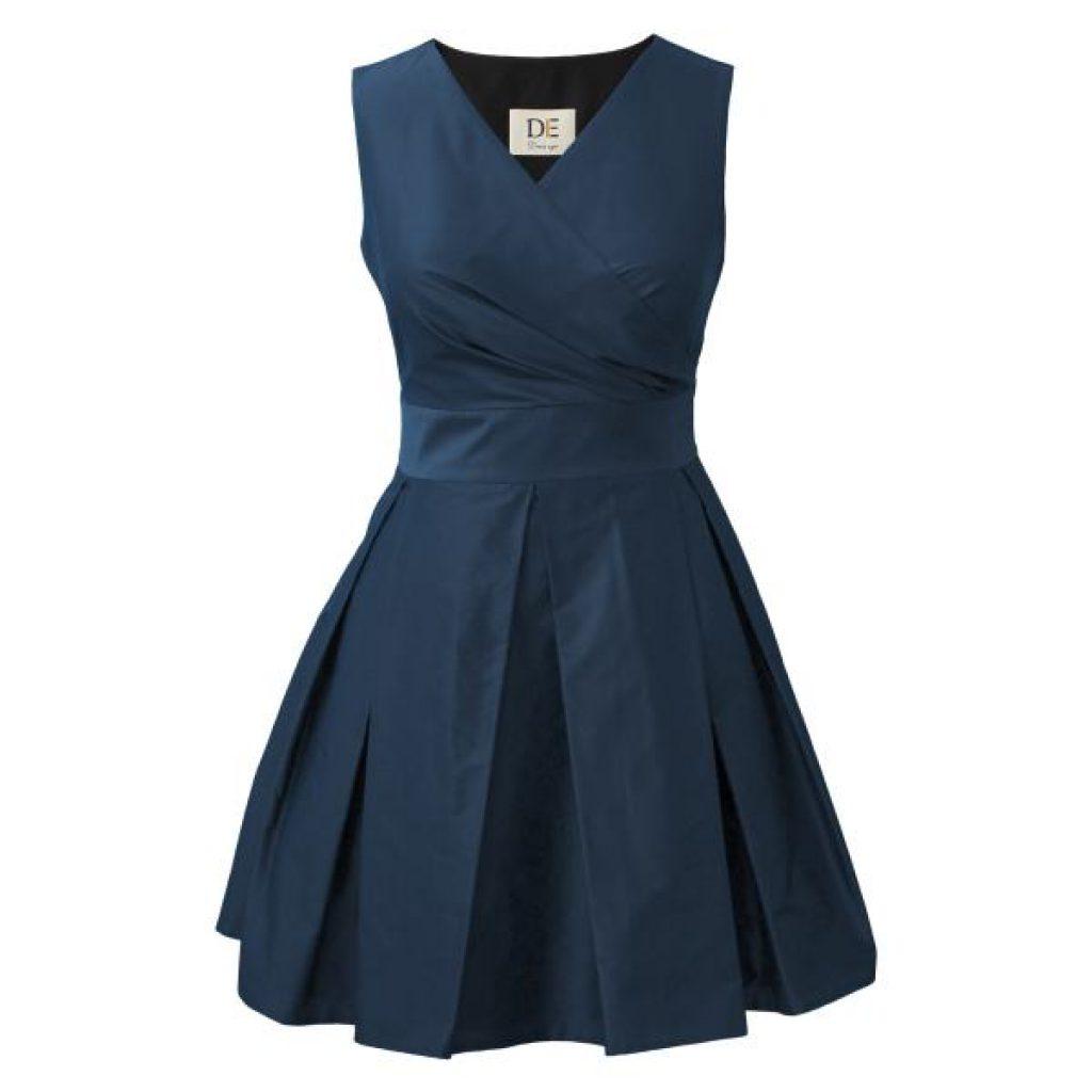 پیراهن زنانه درس ایگو کد 1010004 رنگ آبی لباس مجلسی